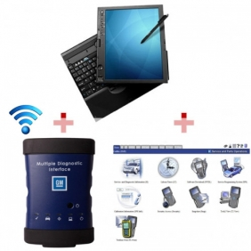 Supplier High Quality WIFI GM MDI Tech3 Tech 3 Multiple Diagnostic Interface With IBM X61T Laptop Full Set Ready To Use
