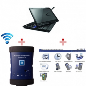 Supplier High Quality WIFI GM MDI Tech3 Tech 3 Multiple Diagnostic Interface With X200T Laptop Full Set Ready To Use