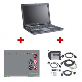 Supplier Best Quality Mercedes Benz MB SD Connect C4 with Dell D630 Laptop with latest version Software Full Set Ready to Use