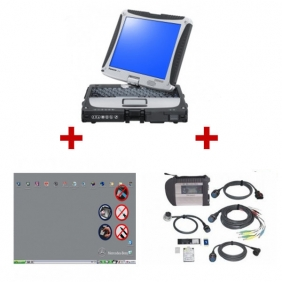 Supplier Best Quality MB SD Connect C4 With Panasonic CF-19 Touch Screen Laptop Full Set 2014.05 Version Ready To Use