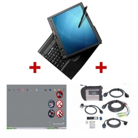 Supplier Best Quality Mercedes Benz MB SD Connect C4 with Lenovo ThinkPad X61T Touch Screen Laptop with 2016.12 Version Software Full Set  Ready to Use