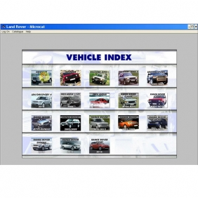 Supplier NEW & Latest Land Rover Microcat Electronic Parts Selling System 2013.07