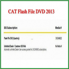 Supplier CAT Flash File DVD 2013 Easy And Simple To Handle