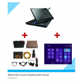 Supplier BMW ICOM A2BC with WIN 8 ICOM Software Installed on ThinkPad X200T Full Set Read to Use
