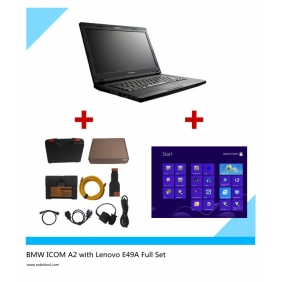 Supplier BMW ICOM A2BC with WIN 8 ICOM Software Installed on New Lenovo E49A Full Set Read to Use