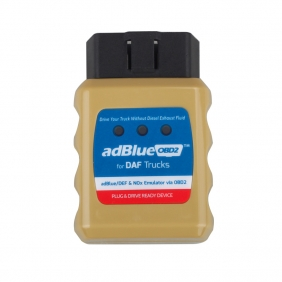 Supplier AdblueOBD2 Emulator for DAF Trucks Plug and Drive Ready Device by OBD2