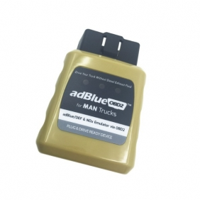Supplier AdblueOBD2 MAN Trucks AdblueOBD2 Emulator Plug and Drive Ready Device by OBD2