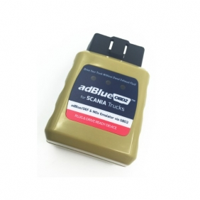 Supplier SCANIA Trucks AdblueOBD2 Emulator for SCANIA Trucks Plug and Drive Ready Device by OBD2