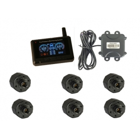 Supplier TPMS TPE50 Truck Tpms System TPE50 External Tire Pressure Monitoring System Displayer