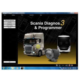Supplier SDP3 V2.31 Scania VCI 2 SDP3 V2.31 Diagnostic software without usb dongle