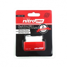 Supplier Nitro OBD2 Diesel Chip Tuning Box Plug and Drive NitroOBD2  Power Fuel Optimization Device