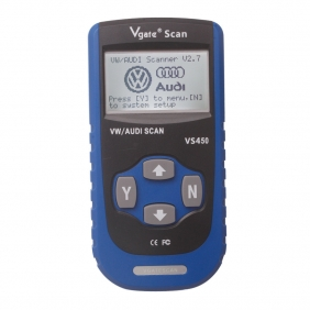 Supplier Vgate VS450 VAG Auto Scanner Vgate Scan VS450 Code Reader VAG VS450 OBD II VW/AUDI SCAN Tool