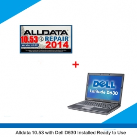 Supplier All data Crack Mitchell Crack Version alldata 10.53 installed on Dell D630 ready to use