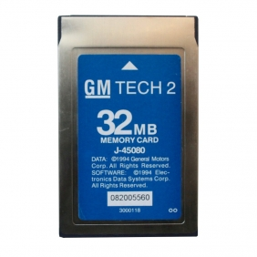 Supplier 32MB CARD FOR GM TECH 2 (GM,OPEL,SAAB,ISUZU,Holden)