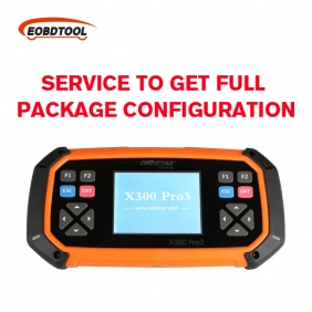 Supplier Technical Service to Get OBDSTAR X300 PRO3 Key Maker Full Package Configuration