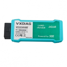 Supplier VXDIAG VCX NANO for Land Rover and Jaguar 2 in 1 with JLR SSD Software V143 WIFI Version