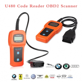 Supplier U480 Code Reader Memo Scanner U480 CAN-BUS OBD2 OBDII Car Code Diagnostic Tool