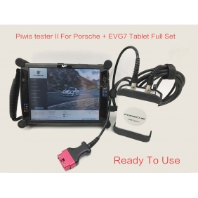 Supplier Piwis Tester II for Porsche With Tablet EVG7 Installed V17.500 Software Full Set Ready To Use