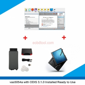 Supplier VAS 5054A With OKI Chip with Thinkpad X220T Touch Screen Laptop installed VW ODIS V4.3.3 ready to Use