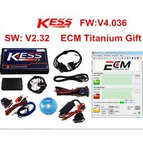 Supplier Kess V2 K-suite 2.32 Firmware V4.036 No Tokens Limit ECM Titanium
