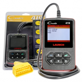 Supplier Launch CReader 419 Launch CReader 419 OBD II EOBD Scanner Launch CReader 419 Code Reader