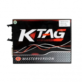 KTAG 7.020 EU Version Ktag V7.020 Firmware V2.23 Software KTAG Master with Red PCB No Tokens Limitation