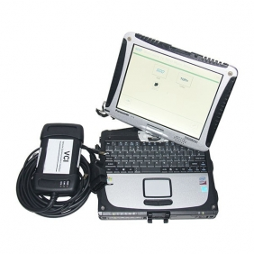 JLR VCI 3 Jaguar/Land Rover Diagnostic Tool with V151 SDD Installed on Panasonic CF19 Laptop Full Set