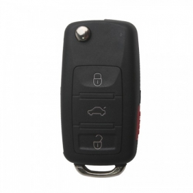 Supplier Remote Key Shell (3+1) Button For VW Touareg 5pcs/lot