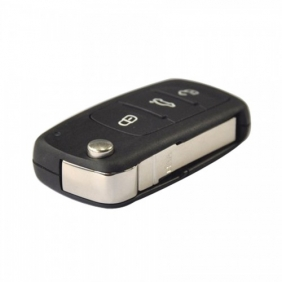 Supplier New 3 Button Remote Flip Key 434MHz 5K0 837 202 AD CAN Chip Inside For VW