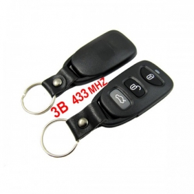 Supplier 3 Button Remote Key 433MHZ for Hyundai