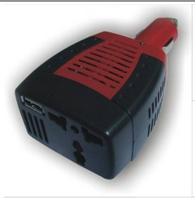 Supplier NEW Automotive  Inverter USB 75W DC 12V to AC 110V Power
